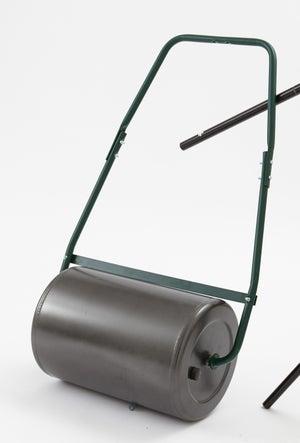 Image : Rouleau à gazon acier GEOLIA, manche métal L.89 cm