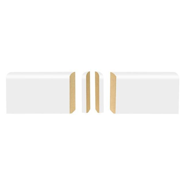 Lot De 2 Angles Pour Plinthe Blanc Leroy Merlin