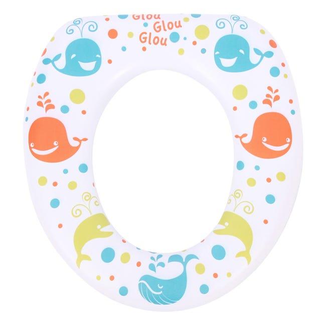 Reducteur Enfant Multicolore Plastique Splash Baleine Leroy Merlin