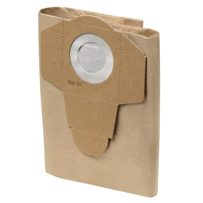 Lot de 4 sacs papier pour aspirateur Practyl 15 DEXTER