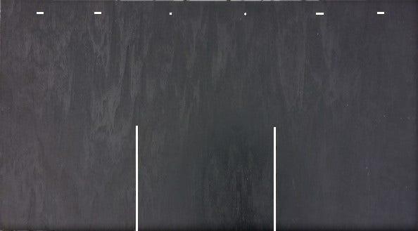 Bardeau Lisse Composite Anthracite L 0 5 X L 0 9 M Leroy Merlin