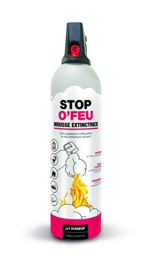 Mousse extinctrice Stop o feu DIXNEUF