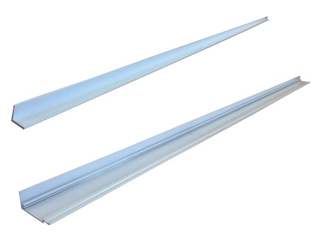 Tapee Baie Coulissante Aluminium Pour Isolation 100 Blanc Leroy Merlin