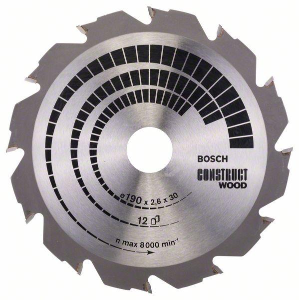 Lame Coupe Rapide Et Grossière Bosch Bois Et Aluminium Pour Scie Circulaire