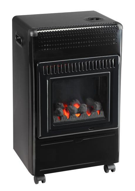 Chauffage à gaz à flamme bleue FAVEX Ektor fire, 3.4 kW ...