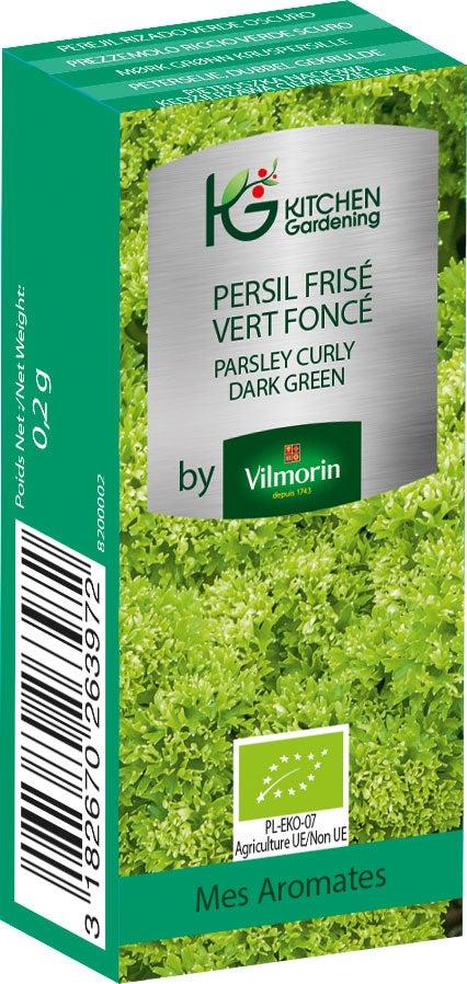 Kitchen Gardening Persil G/éant dItalie BIO Vilmorin