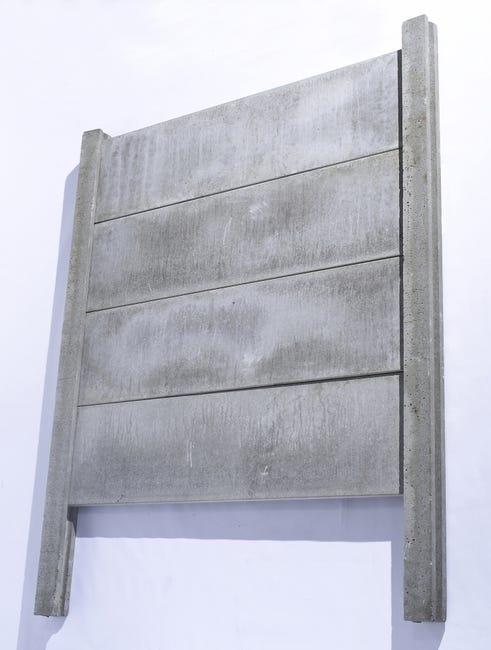 Poteau Droit Pour Cloture En Beton Pleine L 260 X H 260 Cm X Ep 120 Mm Leroy Merlin