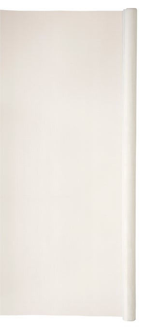 Moustiquaire fibre de verre blanc, H.1 x L.2 m