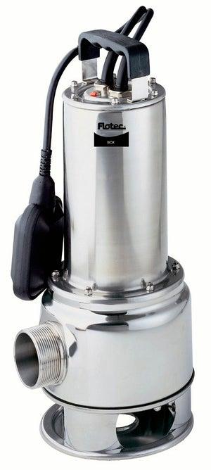 Image : Pompe d'évacuation eau chargée FLOTEC Biox 200/8a 17000 l/h