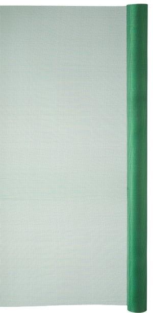 Moustiquaire plastique vert, H.1 x L.2 m