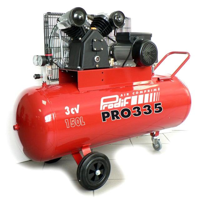 Compresseur De Chantier Prodif 150 L 3 Cv