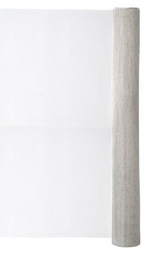 Moustiquaire aluminium gris, H.0.6 x L.3 m