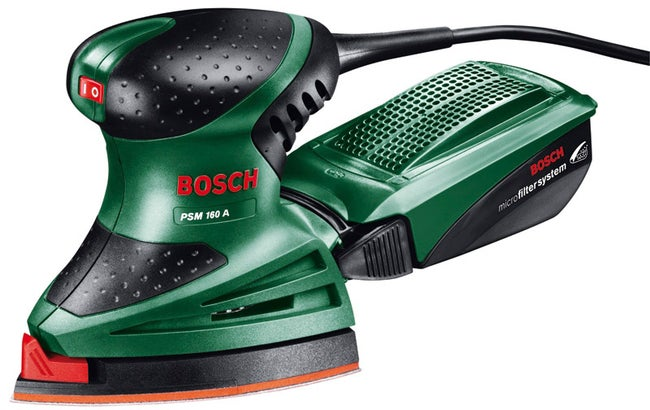 Ponceuse Multifonction Filaire Bosch Psm 160a 160 W