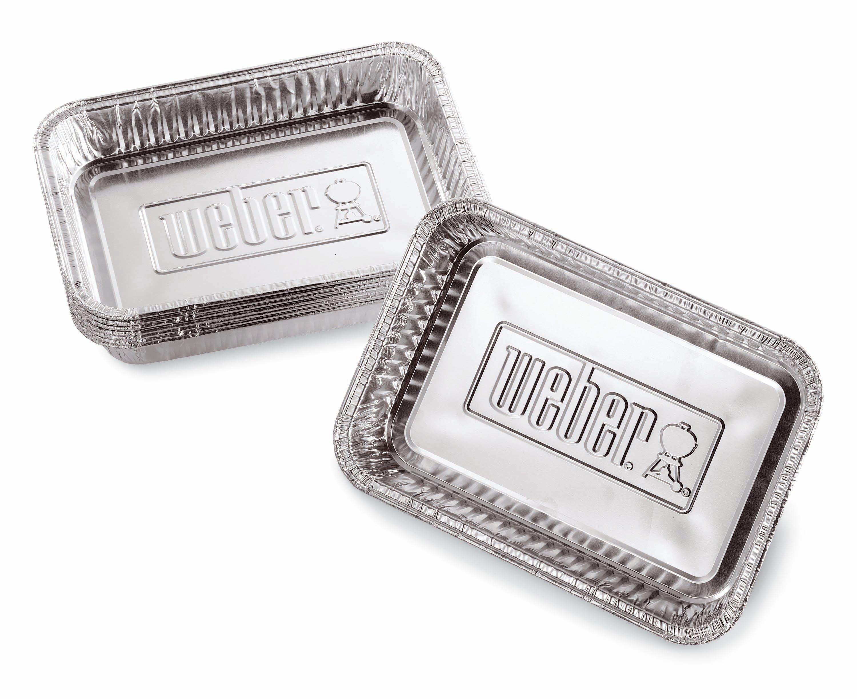 Petites barquettes en aluminium Barbecue
