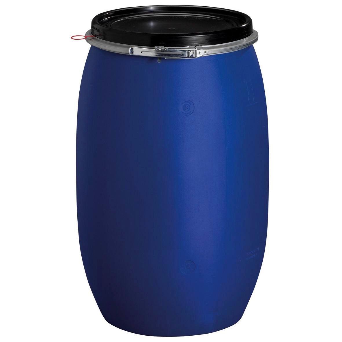 Fût de macération aérien GARANTIA cylindrique bleu , 120 l