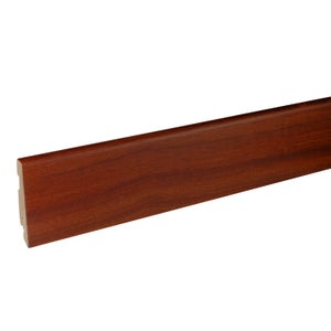 Plinthe parquet plaquée acacia, L.220 cm x H.78 x Ep.14 mm