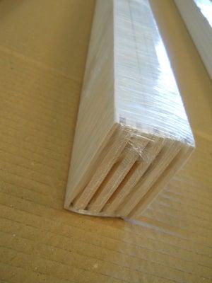 Plinthe sapin peint droite blanc, 68 x 9 mm x 2.05 m