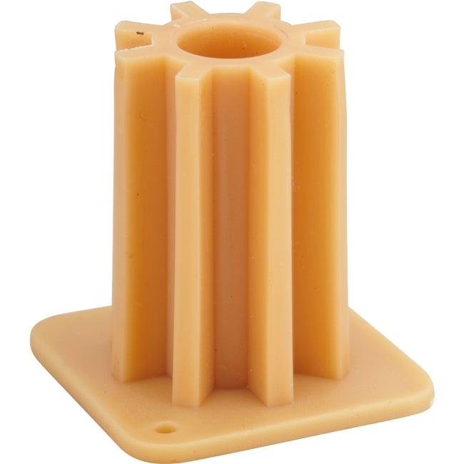 Lot De 4 Bagues Plastique à Visser Diam25 X H38 Mm