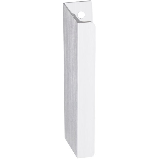 Poignée De Meuble Discrète Aluminium Anodisé Entraxe 64 Mm