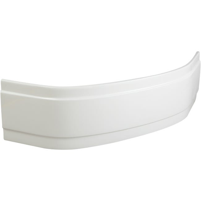 Tablier De Baignoire D Angle L 140x L 140 Cm Blanc Sensea Access