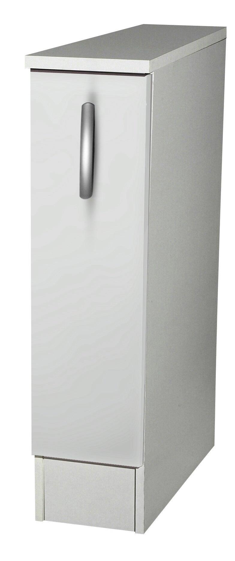 Meuble de cuisine bas 13 porte, blanc, h13x l135x p13cm