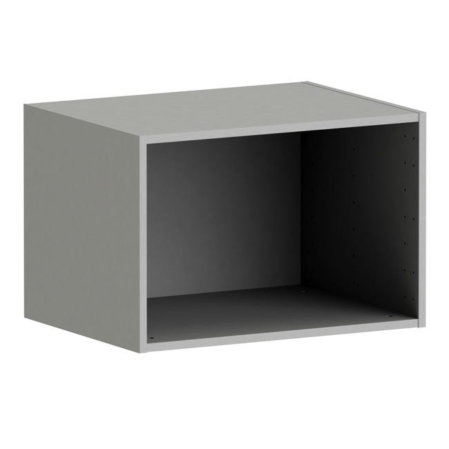 Caisson Spaceo Home Anthracite H 40 X L 60 X P 45 Cm Leroy Merlin