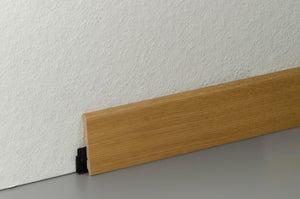 Plinthe parquet effet chêne blond, L.220 cm x H.58 x Ep.14 mm