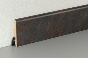 Plinthe sol stratifié décor n°230, L.220 cm x H.78 x Ep.14 mm