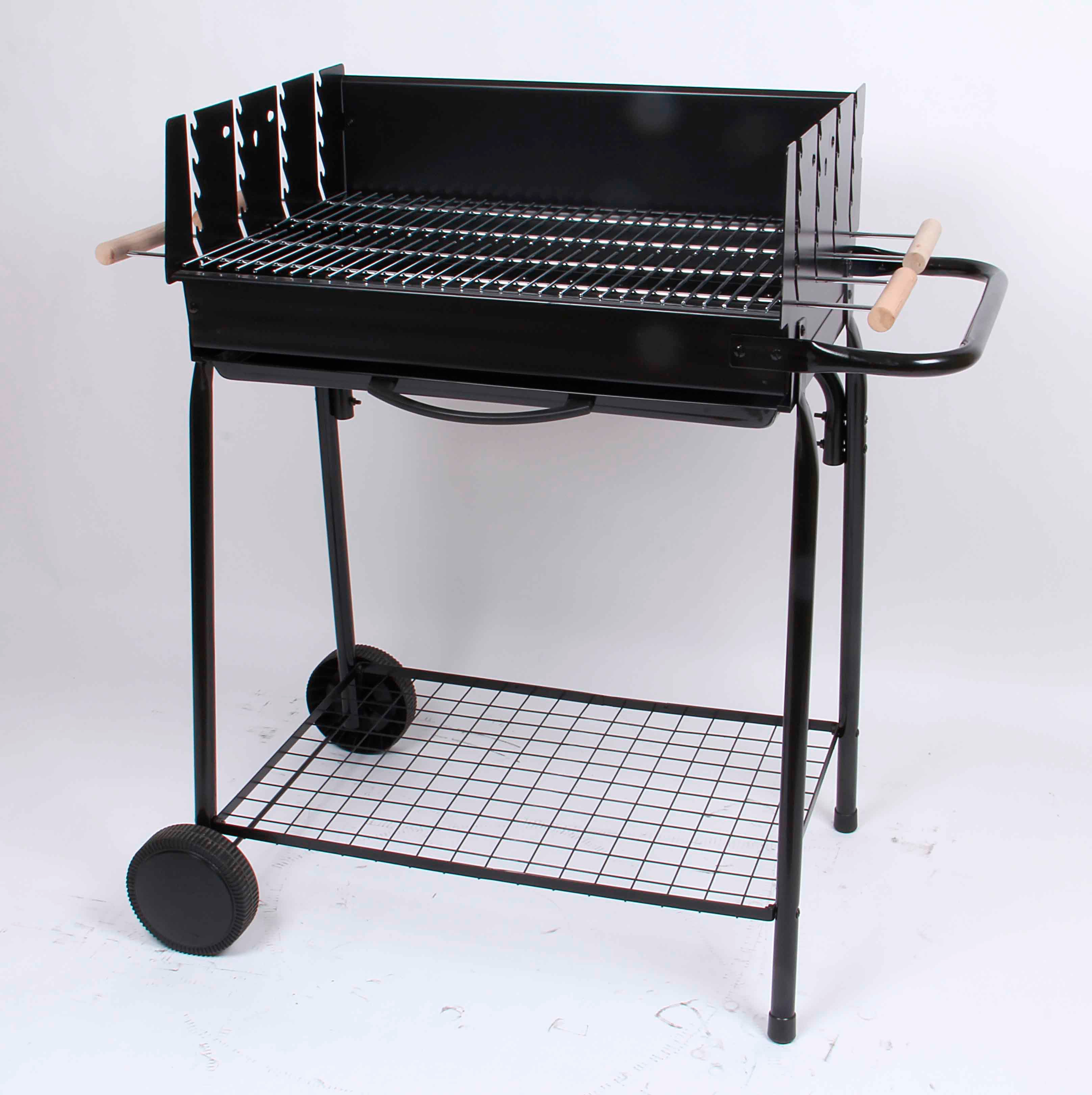 Barbecue au charbon de bois naterial en fonte, modèle