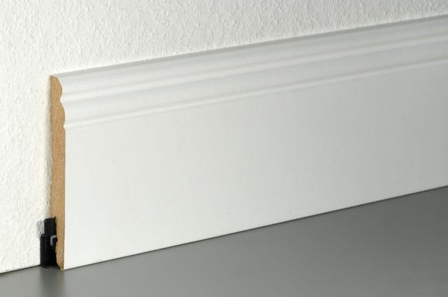 Plinthe Blanc H 10 X L 2 2 M X Ep 13 5 Mm Alsapan Neuhofer Leroy Merlin
