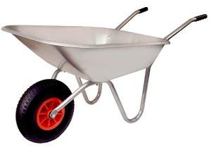 Image : Brouette 1 roue en Acier galvanisé ALTRAD, 90 l, 120 kg