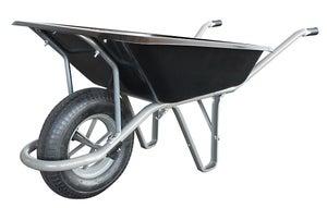 Image : Brouette 1 roue en Acier peint ALTRAD, 100 l, 200 kg