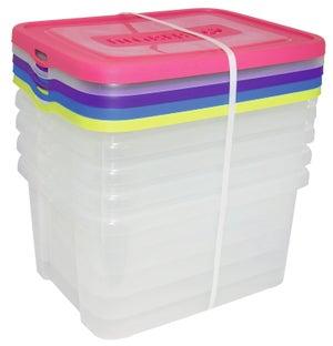 Bac De Manutention Stacking Box Plastique L35 X P275 X H12 Cm