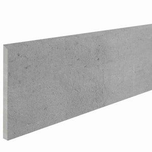 Plinthe, gris Proton, H.9.5 x L.0.91 m x Ep.10 mm