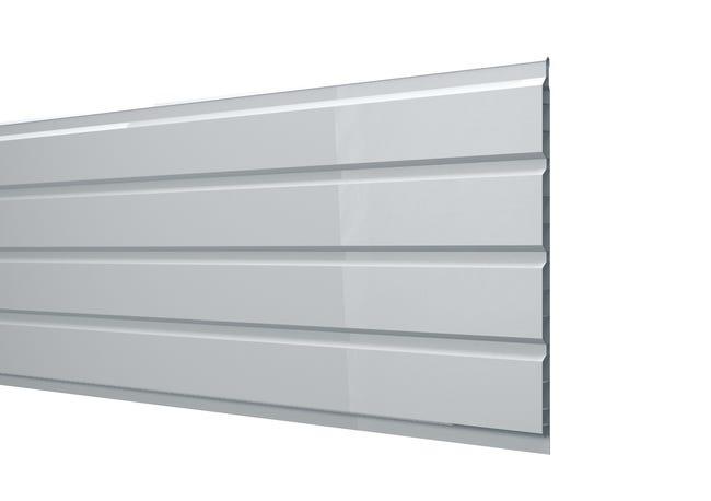 Sous face de toiture Sf2503b blanc pvc L.3 m | Leroy Merlin