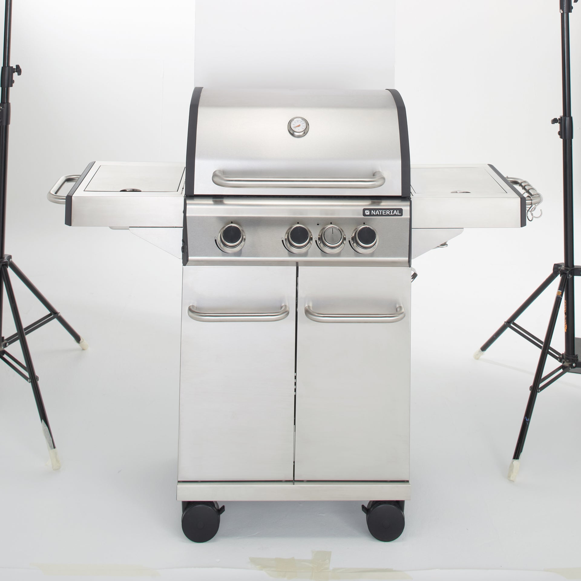 Barbecue au gaz 142 x 55 x 118 cm NATERIAL Hudson, 4