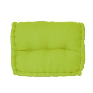 Coussin de sol, vert anis l.60 x H.45 cm