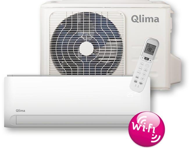 Climatiseur Fixe Connecte Pack Pour Monosplit Qlima Sc5032 3500 W Leroy Merlin