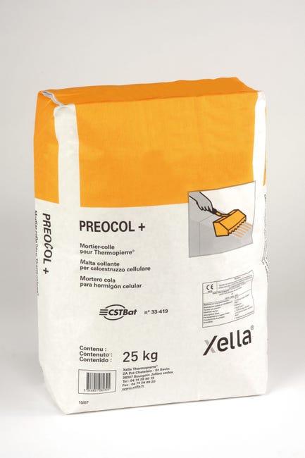 Mortier Colle Pour Beton Cellulaire Preocol Preocol 25 Kg Leroy Merlin
