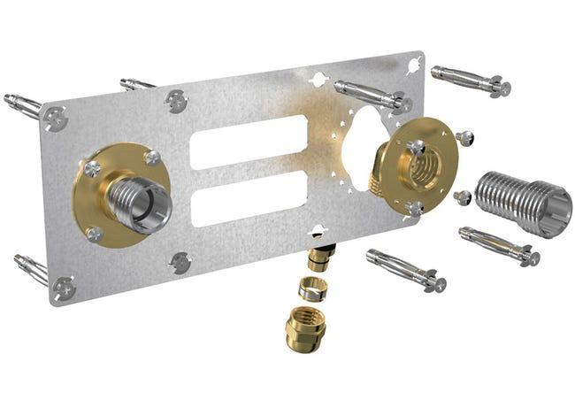 Kit D Installation Femelle A Glissement Pour Tube Per Diam 12 Mm 15 X 21 Mm Leroy Merlin