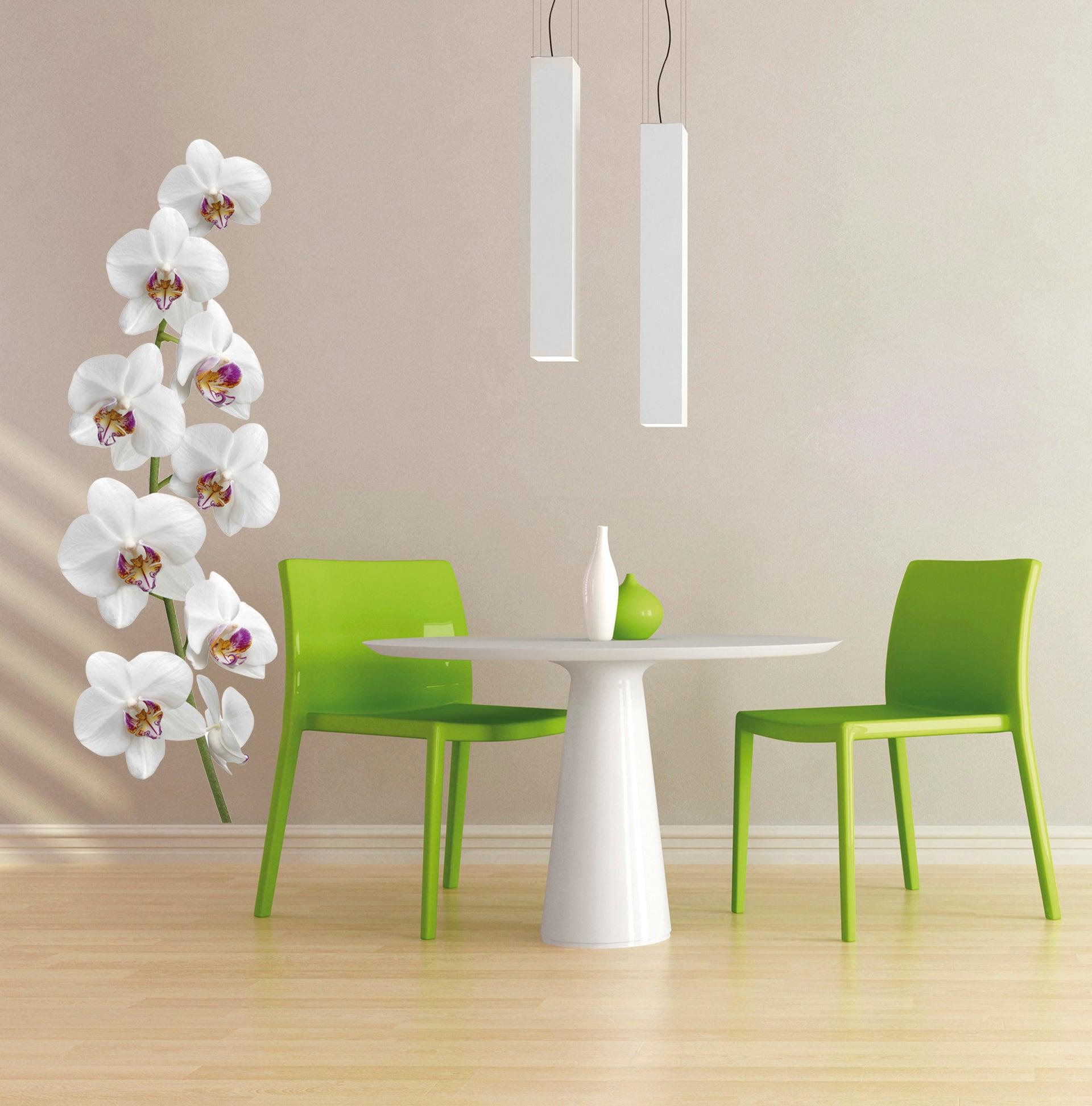 Sticker décoratif Coeur d'orchidée 56 cm x 164 cm | Leroy Merlin