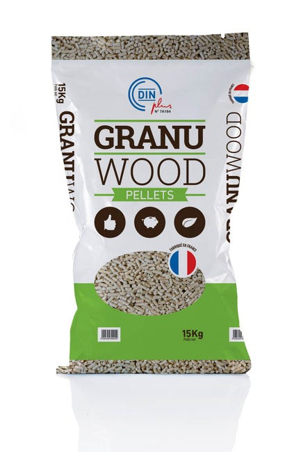 Granules De Bois Granuwood En Sac 15 Kg Leroy Merlin