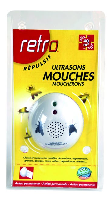 Repulsif Ultrasons Anti Mouches Retro Leroy Merlin