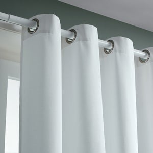 Image : Rideau tamisant blanc l.140 x H.240 cm