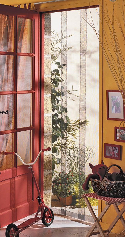Rideau Pour Porte Fenetre moustiquaire pour porte rideau moustikit h.230 x l.100 cm