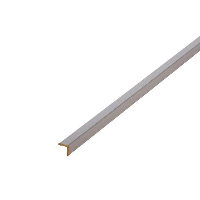 Baguette D Angle Medium Mdf Gris Galet 3 20 X 20 Mm L 2 4 M Leroy Merlin