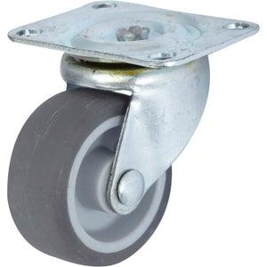 Image : Roulette pivotante à platine, Diam.42 mm