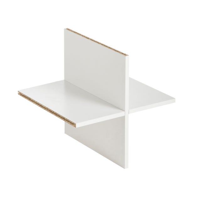 Croisillon MULTIKAZ, blanc H.32.8 x l.32.8 x P.31.4 cm