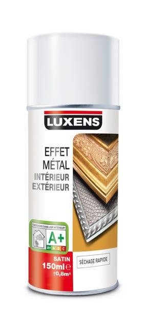 Peinture Aerosol Metal Brillant Luxens Argent 0 15 L Leroy Merlin