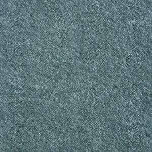 Margelle Siena en grès cérame gris bleuté, L.60 x l.33 x Ep.2 cm